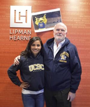 Azwa Salleh and Rob Moore